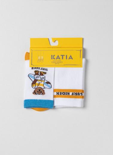 Katia & Bony 2'li Çorap Sarı